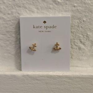 Kate Spade anchor earrings